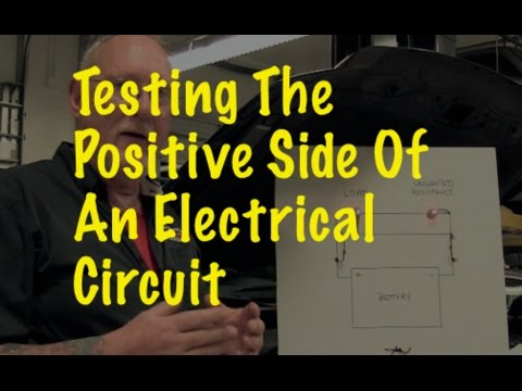 The Trainer #49: Testing the positive side of an electrical circuit