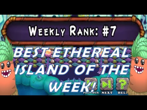 OMG! Bay Yolal's Ethereal island is weekly TOP 7 Thank you for likes! - My Singing Monsters Best