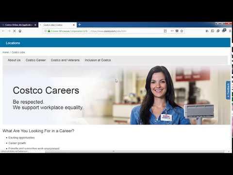 Costco Job Application Process Online 2019