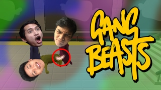 NGAKAK PARAH !! THREESOME Ft IdiotARMY - Gang Beasts Indonesia