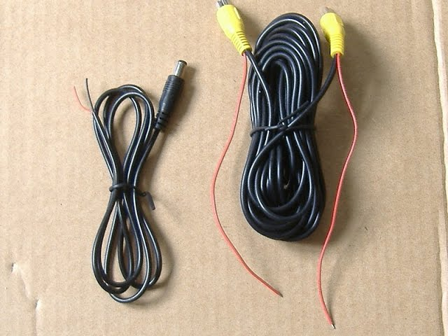 Reverse Backup camera wiring - YouTube | Twin Reversing Camera Wiring Diagram |  | YouTube