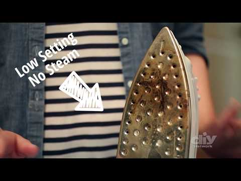 How to Clean a Dirty Iron - DIY Network