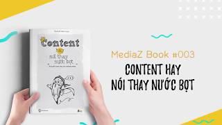 Content hay nói thay nước bọt - MediaZ Book