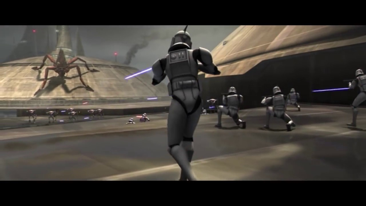 star wars the clone wars attack on kamino youtube. Black Bedroom Furniture Sets. Home Design Ideas