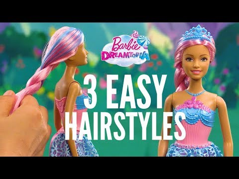 Easy Hairstyles With The Endless Hair Barbie Princess Barbie Youtube