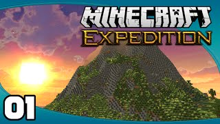 Minecraft Expedition - Ep. 1:  A New Journey Begins! | Minecraft Modded Survival Let