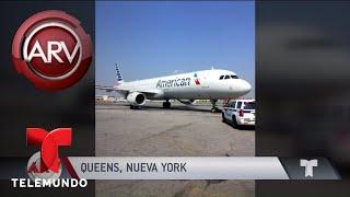 Macabro descubrimiento de un feto en un avión | Al Rojo Vivo | Telemundo