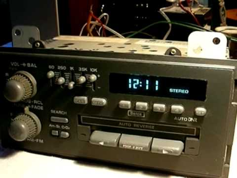 Delco Am Stereo Radio Youtube