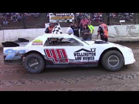Eriez Speedway Street Stock Feature 7-9-17