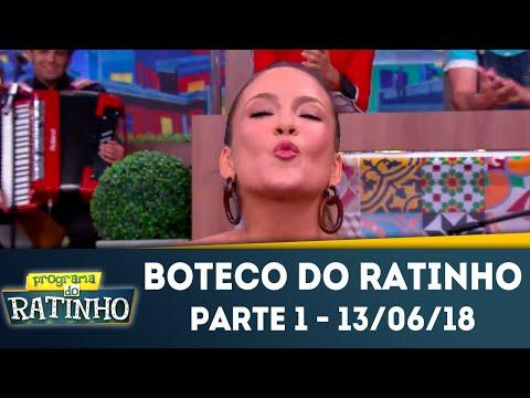Boteco Do Ratinho - Parte 1 | Programa Do Ratinho (13/06/2018)