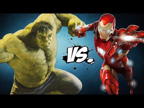 INCREDIBLE HULK vs IRON MAN (Infinity War)...