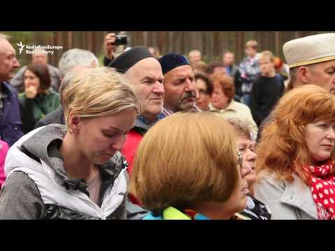 Russians Remember Victims Of Stalin