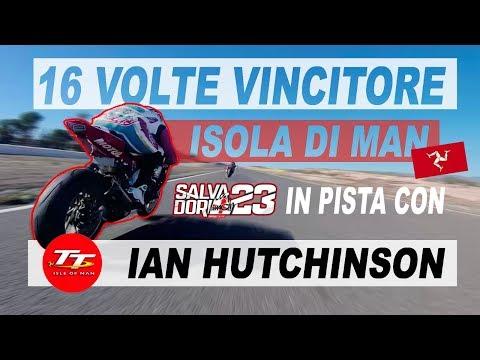 IN SCIA A UN 16 VOLTE VINCITORE ISOLA DI MAN TT Trophy... PART1