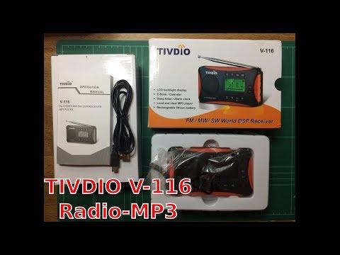 #6 TIVDIO V-116 Radio MP3