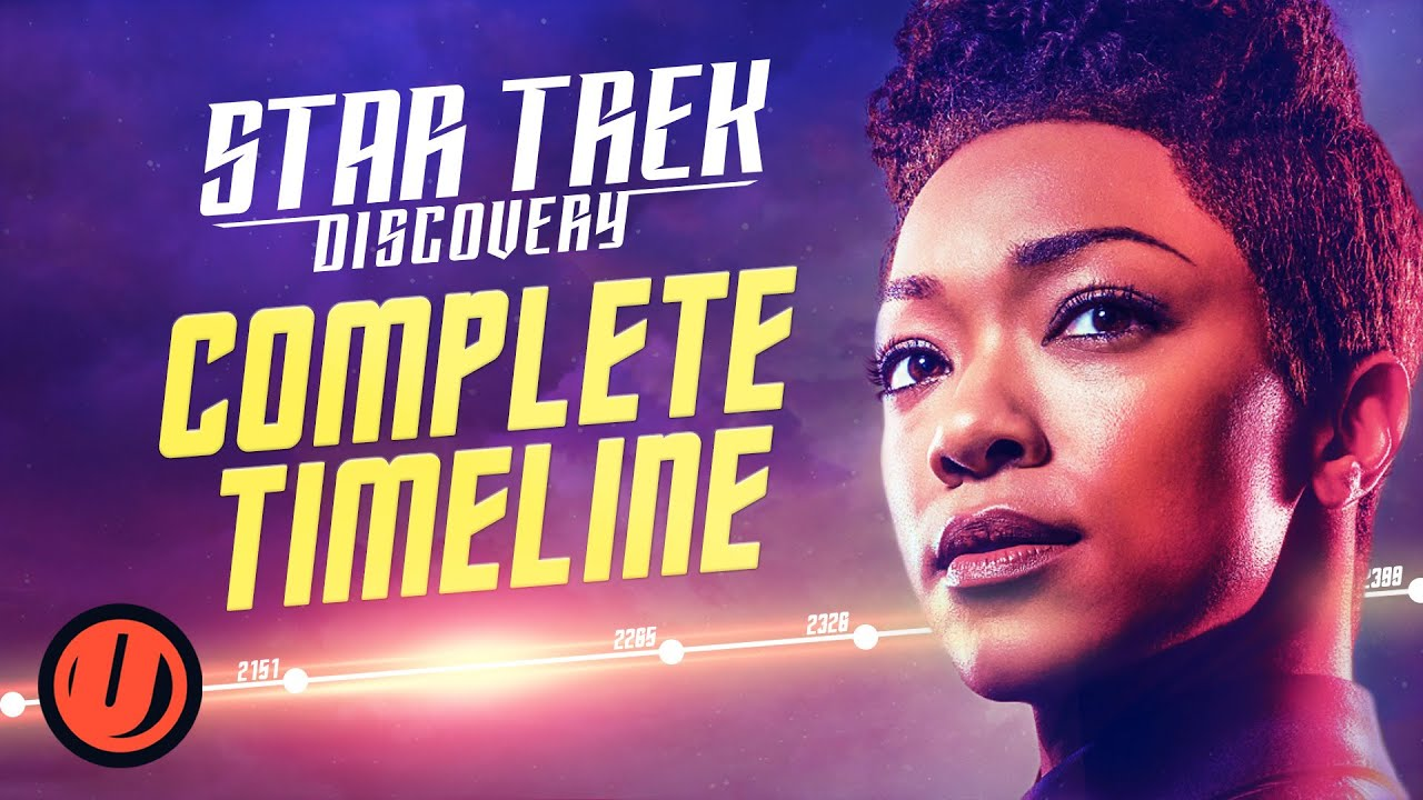 Download STAR TREK: DISCOVERY Complete Timeline Explained (Seasons 1-3)