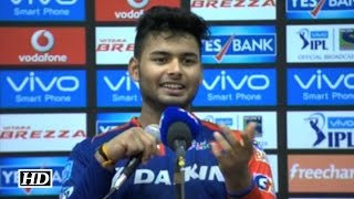 IPL9 DD vs GL: Rishabh Pant on his match winning innings vs Gujarat