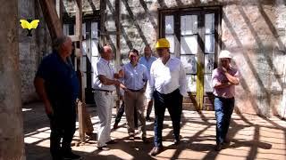 Funcionarios visitaron el futuro Museo del Chamamé y el Carnaval