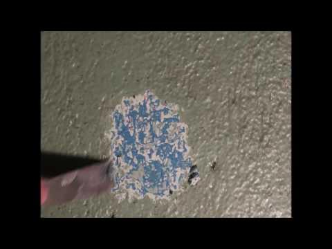 смывка краски с бетона 4 слоя