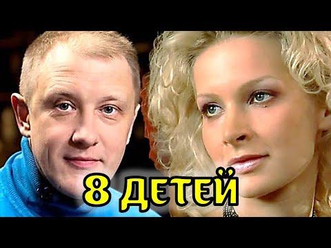 Только посмотрите! 8 детей и известная жена актриса талантливого актера Сергея Горобченко