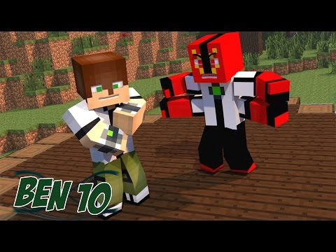 Minecraft Mods - MORPH HIDE AND SEEK - BEN 10 MOD