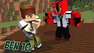 Minecraft Mods - MORPH HIDE AND SEEK - BEN 10 MOD