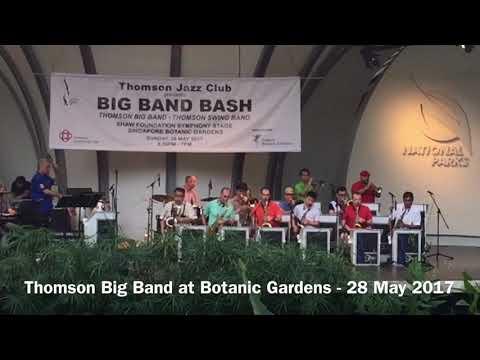 Thomson Big Band at Botanic Gardens - 28 May 2017 (short version)