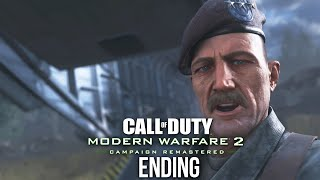 CALL OF DUTY MODERN WARFARE 2 REMASTERED ENDING Gameplay Walkthrough Part 8 - ENDGAME
