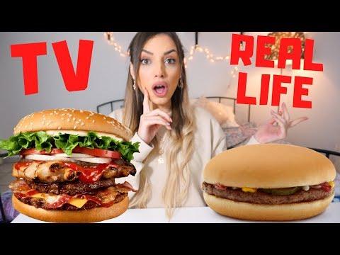 I TESTED FOOD HACKS USED IN TV COMMERCIALS | Manuella
