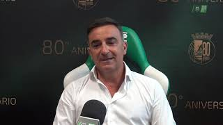 Carlos Carvalhal entrevista