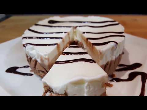 ICECREAM CAKE - Vanilla & Chocolate - Summer Treat - Easy & Delicious ICECREAM Cake Recipe
