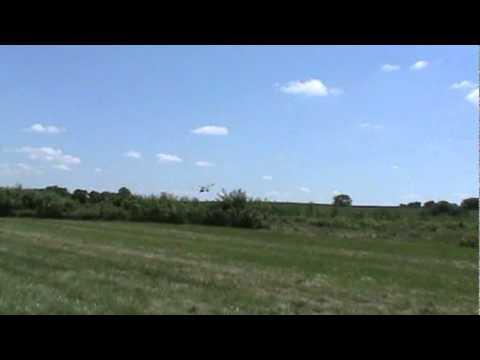 Gary's first flight ever in a Weedhopper ultralight in Lincoln, Nebraska