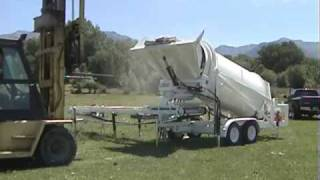 Loading rocks into a 3DH TumblerRight rock tumbler from Rightmfgsys.com