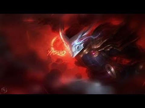 League of Legends, blood moon yasuo mid gameplay!!