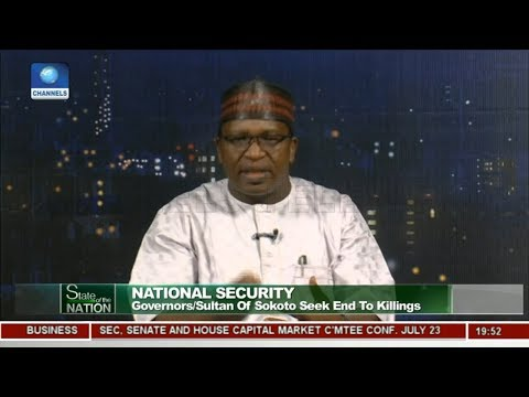 Garba Ibrahim Says FG Must Stop Killing Across Nigeria | State Of The Nation |
