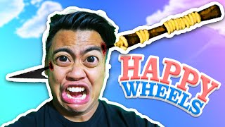 HARPOONED THROUGH THE HEAD! | Happy Wheels