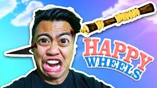 Harpooned Through The Head! | Happy Wheels