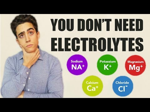 Why you DON'T need Electrolytes!