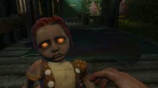 Harvesting a Little Sister in Arcadia - Bioshock