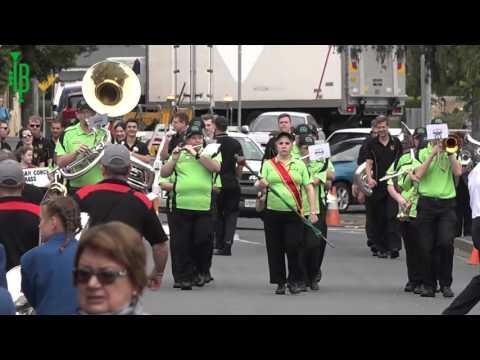 Parade Of Bands: Australian National Band Championships 2016