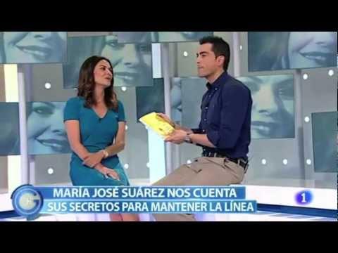 María José Suárez, habla de la Dieta de a Zona España en +Gente de Tve1 - Enerzona