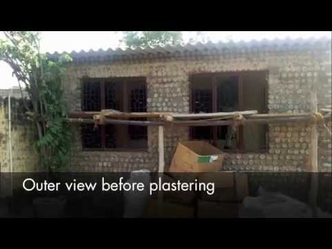 House Construction With Plastic Bottles By Samarpan