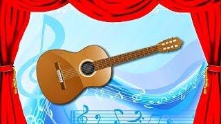 Звуки музыкальных инструментов для детей ★ часть 1 ★ узнать ★ школа - детский сад