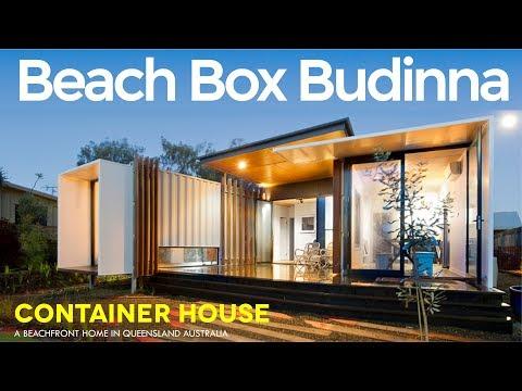 Beach Box Buddina: John Robertson's Modern Container Beachside House by OGE Group Architects