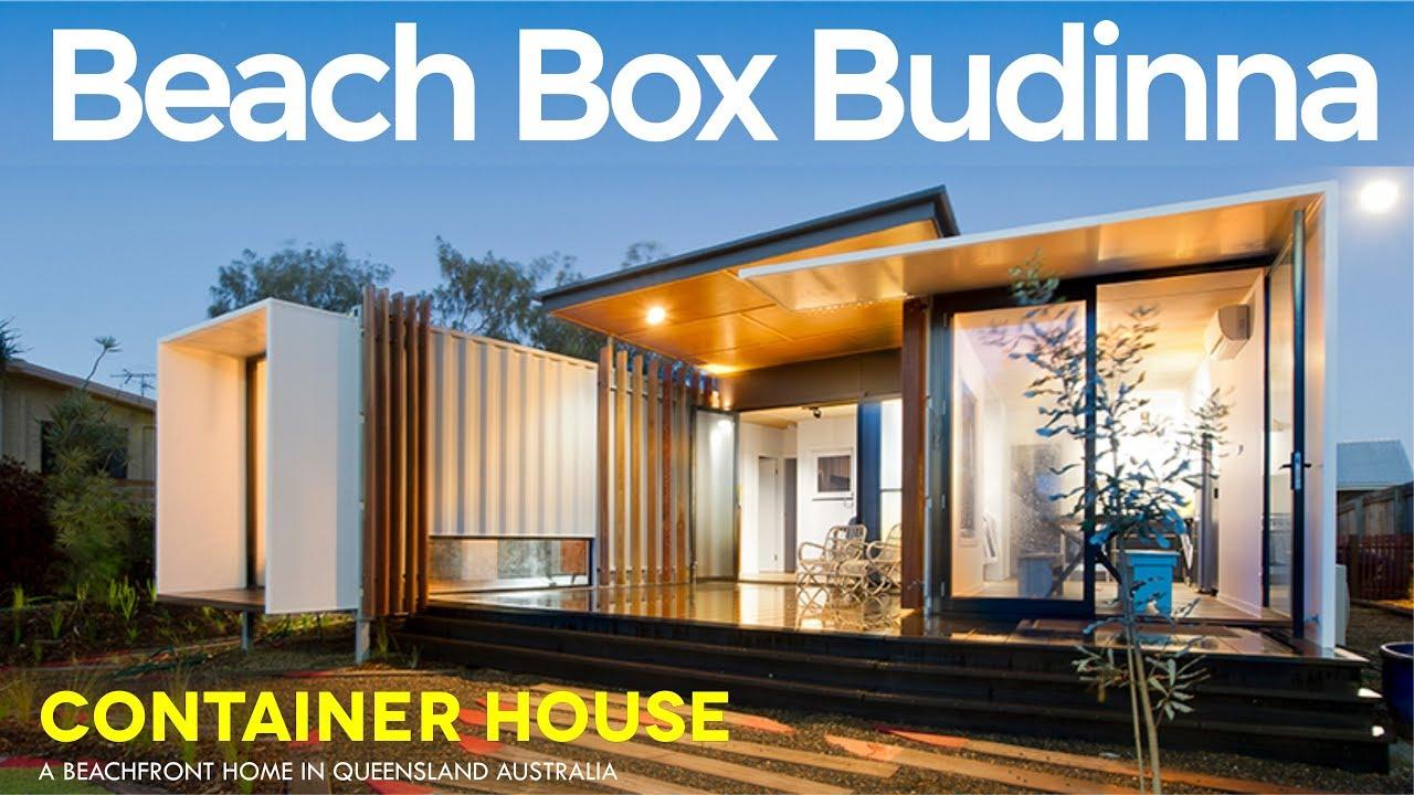 Beach Box Buddina John Robertson S Modern Container Beachside House By Oge Group Architects