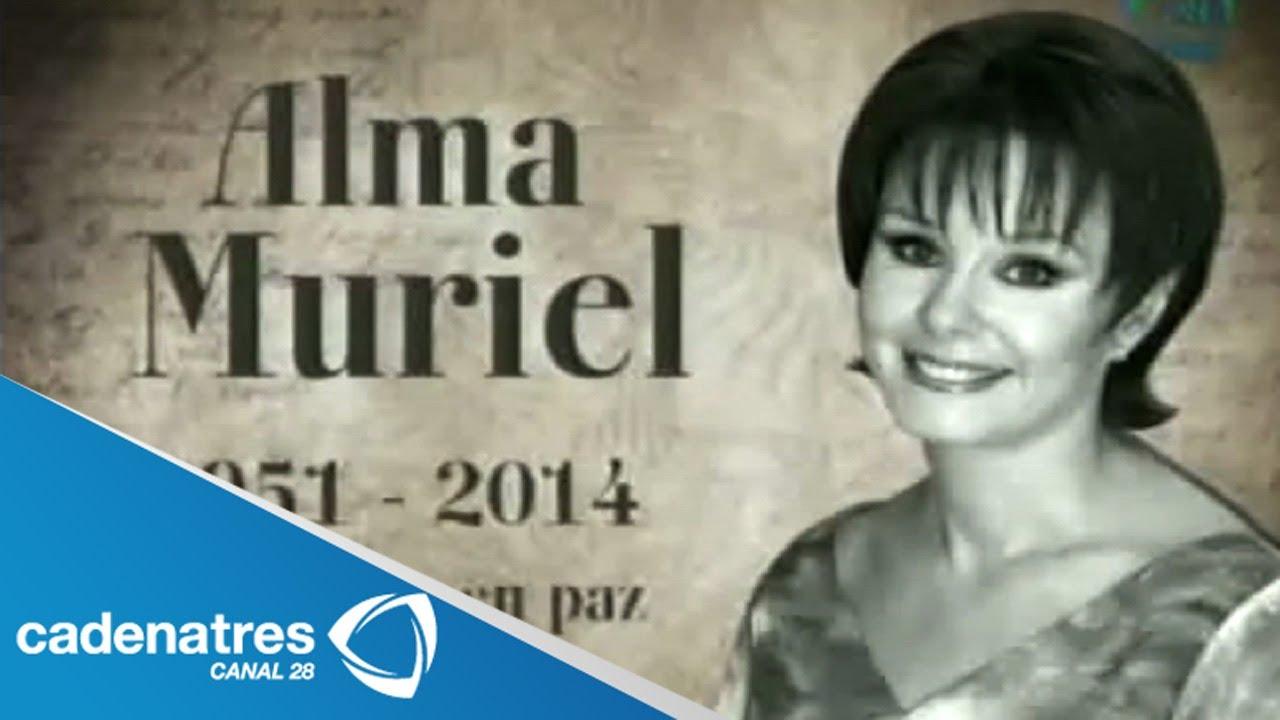 Alma Muriel Fotos muere la actriz alma muriel a los 62 años por un infarto