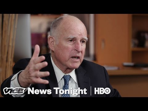 Jerry Brown Says He Thinks of the Berlin Wall When It Comes to Trump's Wall (HBO)