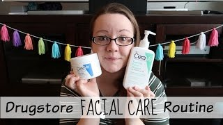 Drugstore Facial Care Routine // Oily Skin | Simple Wife Simple Life