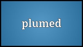 Plumed Meaning
