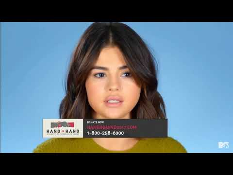 "Selena Gomez - ""Hand In Hand"" A Benefit For Hurricane Relief 
