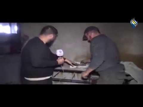 Syrische Armee entdeckt deutsche Chloringas Behälter in